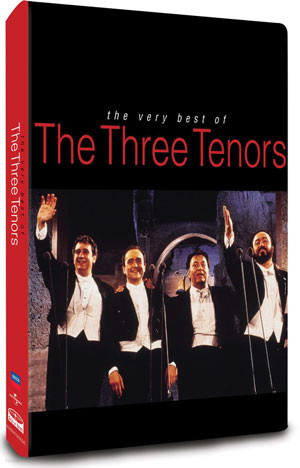 Luciano Pavarotti / Placido Domingo / Jose Carreras 쓰리테너 베스트 (The Very Best of The Three Tenors)