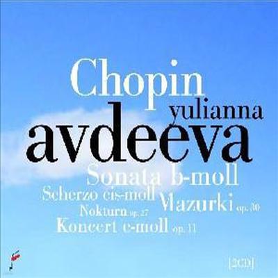 쇼팽 : 피아노 협주곡 1번, 폴로네즈-환상곡, 소나타 B플랫단조, 4곡의 마주르카 Op.30 & 스케르초 E장조, C샤프단조 외 (Yulianna Avdeeva - Highlights from the 16th International Fryderyk Chopin Competition
