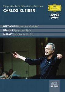 Carlos Kleiber 브람스: 교향곡 4번 / 모차르트: 교향곡 33번 - 카를로스 클라이버 (Beethoven / Brahms / Mozart)