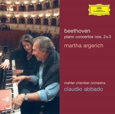 베토벤 : 피아노 협주곡 2ㆍ3번 - 마르타 아르헤리치