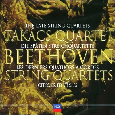 Takacs Quartet 베토벤: 후기 현악사중주 11 `세리오소` 12 13 14 15번 - 타카츠 사중주단