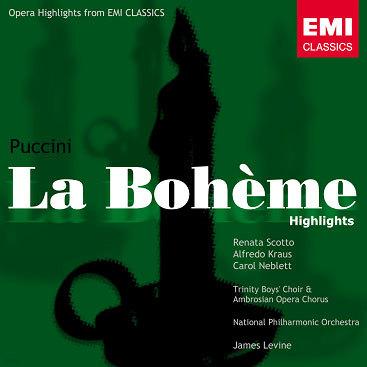 Puccini : La Boheme (Highlights) : ScottoㆍKrausㆍMilnesㆍLevine