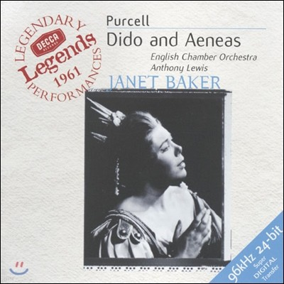 Anthony Lewis 퍼셀: 디도와 아에네스 (Purcell: The Fairy Queen, Z629)
