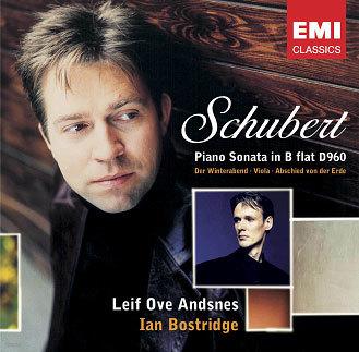 Schubert : Piano Sonata D960ㆍ3 Lieder : AndsnesㆍBostridge
