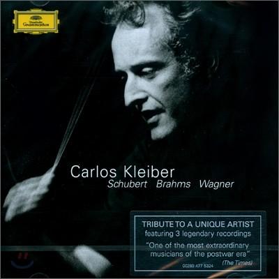 Carlos Kleiber 슈베르트: 교향곡 8번 `미완성` / 브람스: 교향곡 4번 / 바그너: 트리스탄과 이졸데 - 카를로스 클라이버 (Schubert: Symphony no.9 'Unfinished' / Brahms / Wagner)