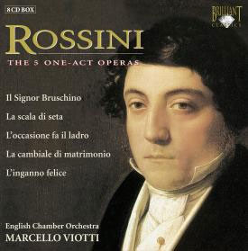 Rossini : The 5 One-Act Operas