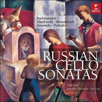 Truls Mork / Jean-Yves Thibaudet / Lars Vogt 러시아 첼로 소나타집 (Russian Cello Sonata)