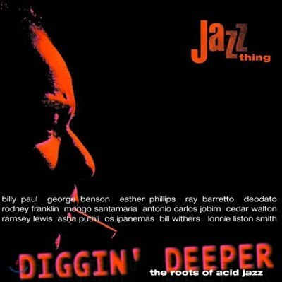 애시드 재즈 모음집 (Diggin' Deeper Vol. 1: The Roots Of Acid Jazz) [컬러 2LP]