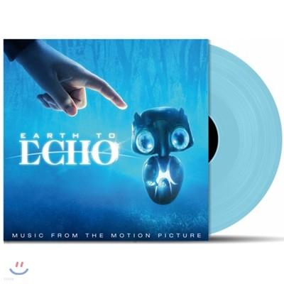 어스 투 에코 영화음악 (Earth To Echo OST by Joseph Trapanese 조셉 트래파네즈) [블루 컬러 바이닐 LP]