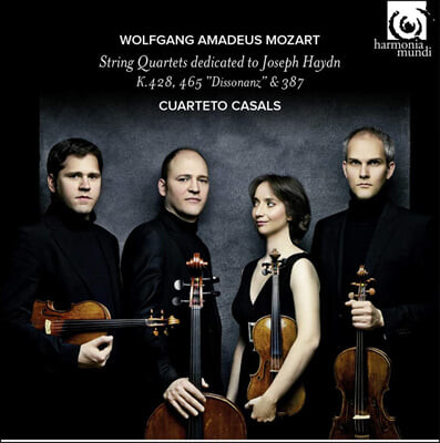 Cuarteto Casals 모차르트: 하이든에게 헌정한 현악 4중주 - 14번 `봄` 16번 19번 `불협화음' 카잘스 콰르텟 (Mozart: String Quartets K. 428, 465, 387)