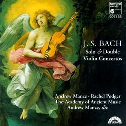 Andrew Manze / Rachel Podger 바흐: 바이올린 협주곡집 (Bach: Violin Concerto)