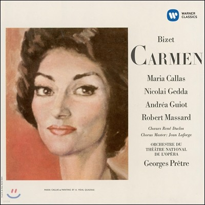 Maria Callas 비제 : 카르멘 (Bizet: Carmen) [1964] 마리아 칼라스