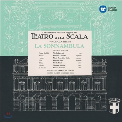 Maria Callas 벨리니 : 몽유병의 여인 (Bellini: La Sonnambula) [1957] 마리아 칼라스