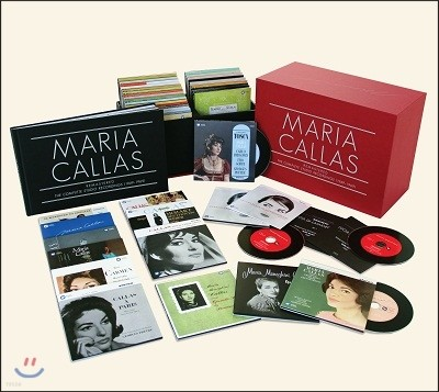 마리아 칼라스 스튜디오 레코딩 전집 (Maria Callas Remastered The Complete Studio Recordings 1949-1969)