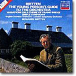 Britten : Young Person's Guide to the Orchestra : LSOㆍESOㆍBritten