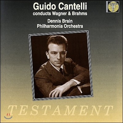 Guido Cantelli 바그너: 지그프리트 / 브람스: 교향곡 1번 - 귀도 칸텔리 (Brahms: Symphony No.1 / Wagner: Siegfried Idyll, Siegfried's Horn Call)