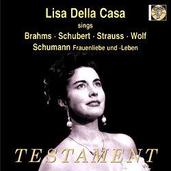 Lisa Della Casa 리사 델라 카사 독일 가곡집 (sings Brahms, Schubert, Strauss, Wolf & Schumann)