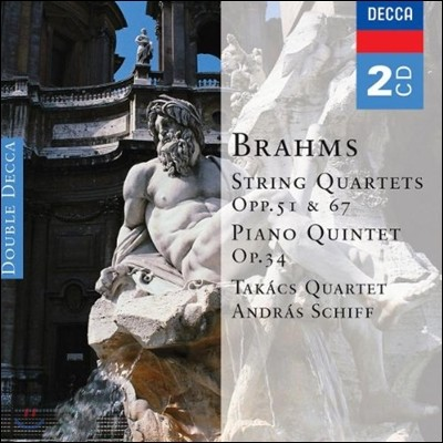 Takacs Quartet 브람스: 현악 사중주곡, 피아노 오중주 - 타카치 사중주단 (Brahms: String Quartets Op.51 & 67, Piano Quintet)