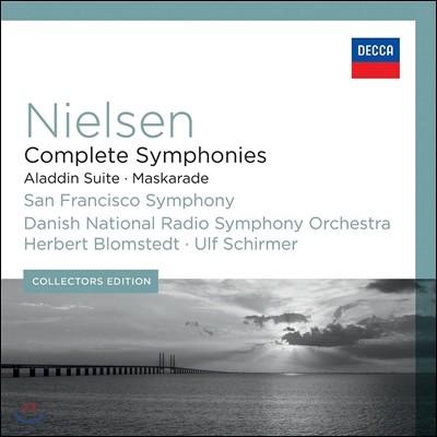 Herbert Blomstedt / Ulf Schirmer 닐센 : 교향곡 전곡집 (Nielsen : Complete Symphonies)