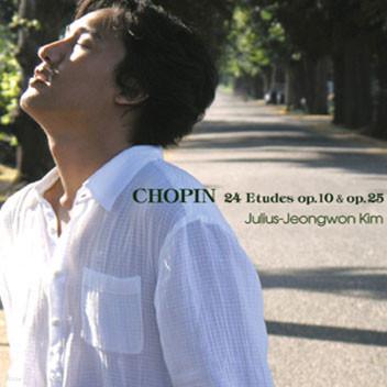 김정원 - 쇼팽 : 24개의 연습곡 전곡집 (Chopin : 24 Etudes op.10 & op.25)