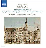 Kevin Mallon 반할: 교향곡 3번 (Johann Baptist Vanhal: Symphony Vol. 3)