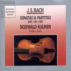 바흐 : 무반주 바이올린 소나타와 파르티타 - 지기스발트 쿠이켄