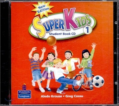 New Super Kids 1 : Audio CD