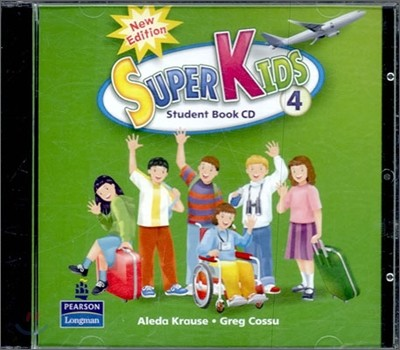 New Super Kids 4 : Audio CD