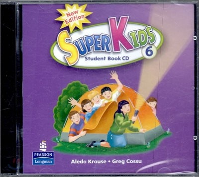 New Super Kids 6 : Audio CD