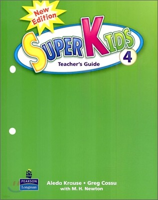 New Super Kids 4 : Teacher's Guide