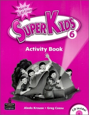 New Super Kids 6 : Activity Book with CD