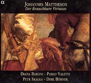 Mattherson : Der Brauchbare Virtuoso : Diana BaroniㆍPablo ValettiㆍPetr SkalkaㆍDirk Borner