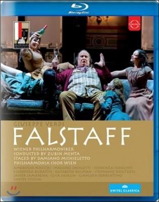 Zubin Mehta 베르디: 팔스타프 (Verdi : Falstaff) [블루레이]