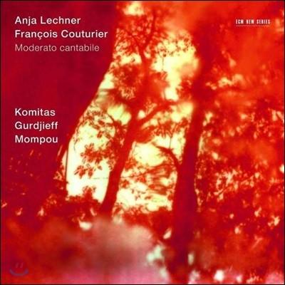 Anja Lechner 구르디에프, 쿠튀리에, 코미타스 (Moderato Cantabile - Komitas, Gurdjieff & Mompou) 안야 레흐너