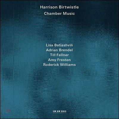 해리슨 버트위슬 : 피아노 삼중주, 로린 니데커에 의한 3개의 곡 & 보겐스트리히 (Harrison Birtwistle: Chamber Music)