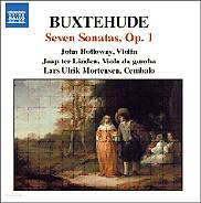 John Holloway 북스테후데: 실내악 작품 1집 (Buxtehude: 7 Sonata Op. 1 BuxWV 252-258)