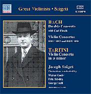 Joseph Szigeti 바흐 / 타르티니: 바이올린 협주곡 (Bach / Tartini : Violin Concerto BWV 1043, 1052, 1056) 요제프 시게티