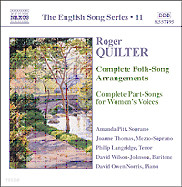 Amanda Pitt 로저 퀼터: 민요 편곡 전곡, 여성을 위한 파트송 전곡 (Roger Quilter: Complete Folk-Song Arrangements)