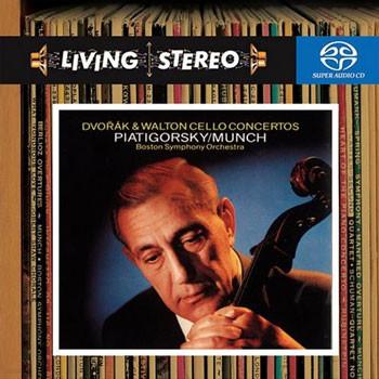 드보르작 / 월튼 : 첼로 협주곡 - 그레고르 피아티고르스키 (SACD)