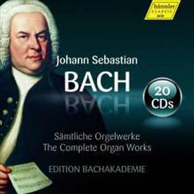 바흐: 오르간 작품 전곡집 (Bach: Complete Organ Works) (20CD Boxset) - Wolfgang Zerer