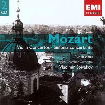Mozart : Violin ConcertoㆍSinfonia Concertante : Spivakov