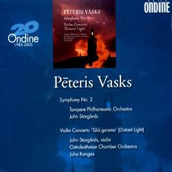 Vasks : Symphony No.2ㆍViolin Concerto : StorgardsㆍTampere POㆍOstrobothnian COㆍKangas