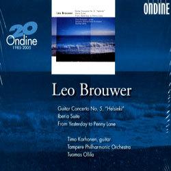 Brouwer : Guitar Concerto No.5 Helsinki : KorhonenㆍTampere POㆍOllila