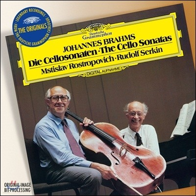 Mstislav Rostropovich / Rudolf Serkin 브람스: 첼로 소나타 (Brahms: Cello Sonatas Nos. 1 & 2) 로스트로포비치