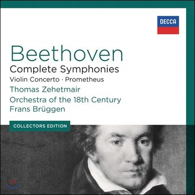 Frans Bruggen 베토벤: 교향곡 전곡, 바이올린 협주곡 (Beethoven: Complete Symphonies, Violin Concerto, Prometheus)