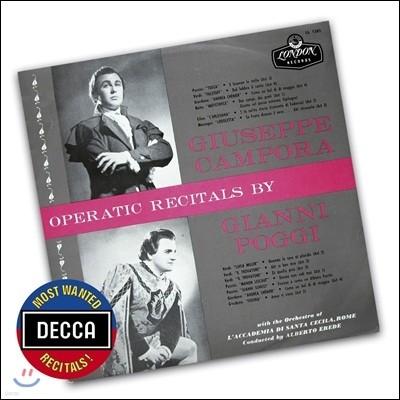 Giuseppe Campora / Gianni Poggi 주세페 캄포라와 지아니 포지의 오페라 리사이틀 (Operatic Recitals)
