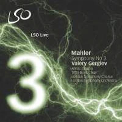 말러 : 교향곡 3번 (Mahler : Symphony No.3) (SACD Hybrid) - Valery Gergiev