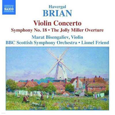 Brian : Violin ConcertoㆍSymphony No.18