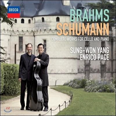 브람스 & 슈만 : 첼로와 피아노를 위한 작품 전곡집 - 양성원, 엔리코 파체