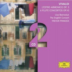 Trevor Pinnock 비발디: 화성의 영감, 플루트 협주곡 - 트레버 피노크 (Vivaldi : L'Estro Armonico op.3ㆍ6 Flute Concerto op.10)